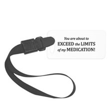 You Are About To Exceed The Limi Luggage Tag