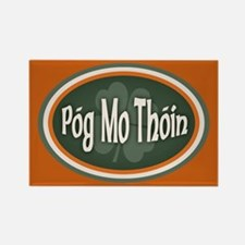 Pog Mo Thoin -ov Rectangle Magnet