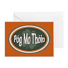 Pog Mo Thoin -ov Greeting Card