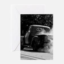 Smokin Truck Greeting Card