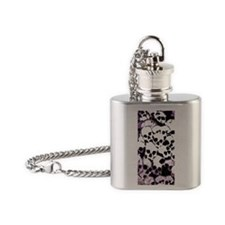 Skull Camouflage Flask Necklace
