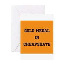 Gold Medal in Cheapskate Greeting Cards