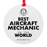 Aircraft mechanic Ornaments