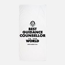 Best Guidance Counsellor in the World Beach Towel