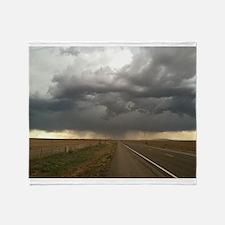 Thunderstorm Throw Blanket