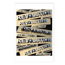 Revolution Postcards (Package of 8)