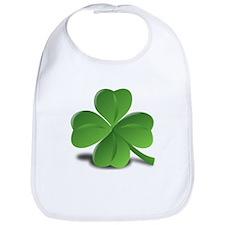 St. Patricks Day Clover Bib