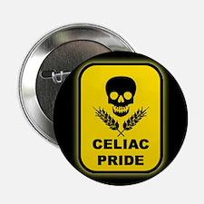 Celiac Skull Pride Button