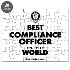 Best Compliance Officer in the World Puzzle