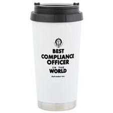 Best Compliance Officer in the World Travel Mug