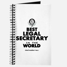 Best Legal Secretary in the World Journal