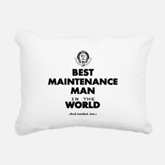 Best Maintenance Man in the World Rectangular Canv