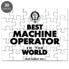 Best Machine Operator in the World Puzzle