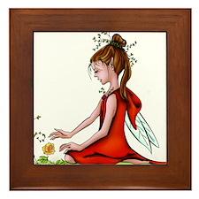 Woodland Fairy Framed Tile