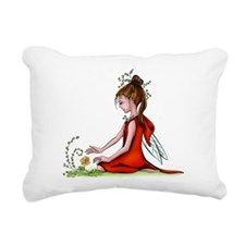 Woodland Fairy Rectangular Canvas Pillow