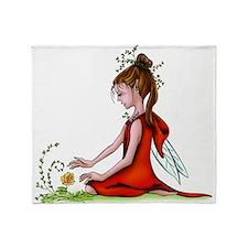 Woodland Fairy Throw Blanket