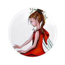 "Woodland Fairy 3.5"" Button"