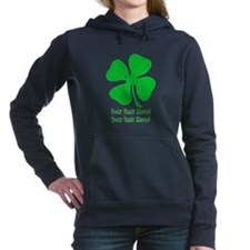 Personalize It, Shamrock Hooded Sweatshirt
