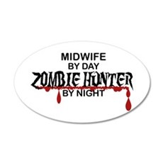 Zombie Hunter - Midwife Wall Decal