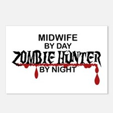 Zombie Hunter - Midwife Postcards (Package of 8)