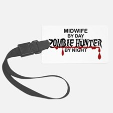 Zombie Hunter - Midwife Luggage Tag