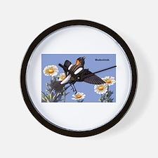 Bobolink Bird Wall Clock