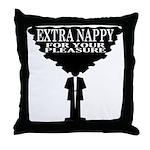 Extra Nappy Throw Pillow