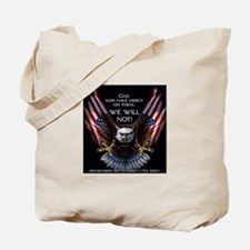 God May Have Mercy Tote Bag