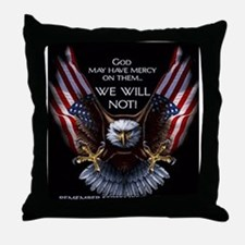 God May Have Mercy Throw Pillow