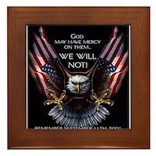 God May Have Mercy Framed Tile
