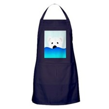 Arctic Bear Apron (dark)
