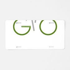 Cool Biking Aluminum License Plate