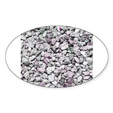 Purple pebble image Decal