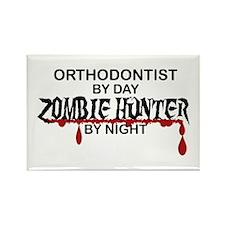 Zombie Hunter - Orthodo Rectangle Magnet (10 pack)