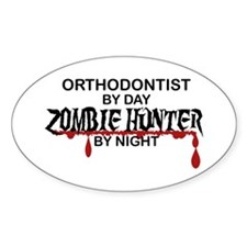 Zombie Hunter - Orthodontist Decal