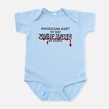 Zombie Hunter - Physician Asst Infant Bodysuit