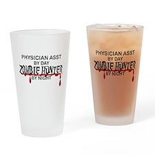 Zombie Hunter - Physician Asst Drinking Glass