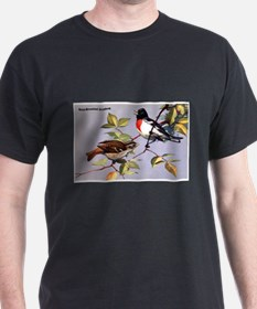 Rose-Breasted Grosbeak Bird (Front) T-Shirt