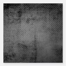 "Gray tiny polka dot treasure Square Car Magnet 3"""