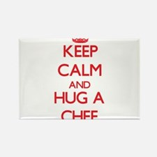 Keep Calm and Hug a Chef Magnets