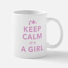 Keep Calm It's A Girl Mug