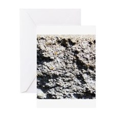 Rock concrete texture Greeting Cards