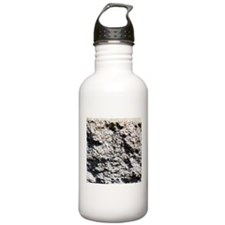 Rock concrete texture Water Bottle
