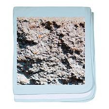 Rock concrete texture baby blanket