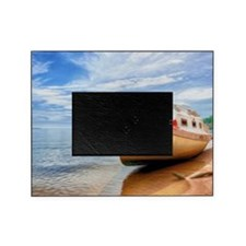 A Boat On A Tropical Beach 1 Picture Frame