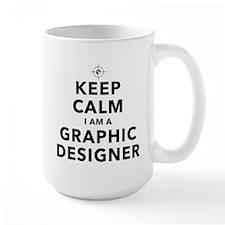 Keep Calm Graphic Designer Mugs