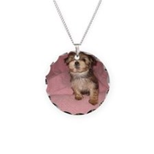 Morkie Puppy Necklace
