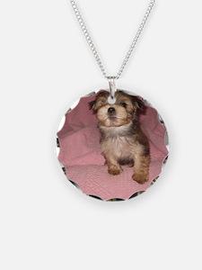 Morkie Puppy Necklace