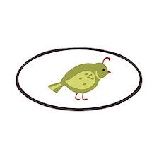 Quail Bird Animal Patches