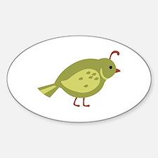 Quail Bird Animal Decal